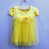 A1029 Gaun Anak Cantik Warna Kuning