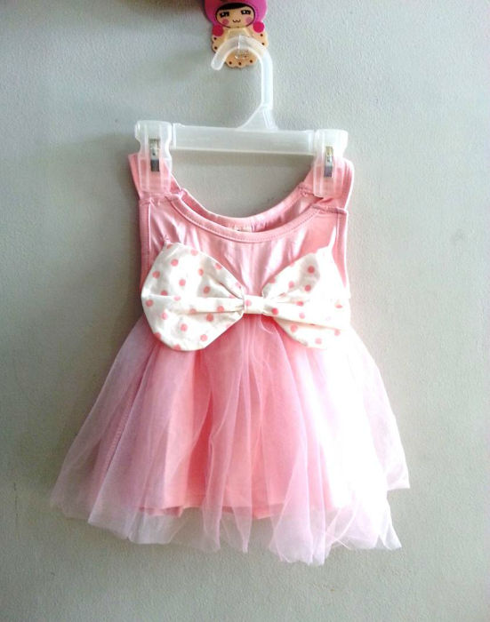 A1088 IDR 72.000 BAHAN COTTON+LACE WARNA PINK SIZE 6 BLN, 1-4 TH