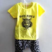 A4162 Baju Anak Model Tiger & Leopard