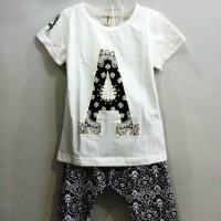 A6010 Baju T-Shirt dan Celana Anak 1-4 Tahun