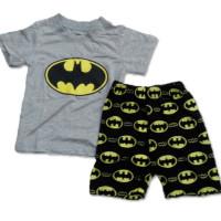 AB005 Baju Anak Batman Abu 1-6 Tahun