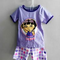 AB006 Baju Anak Dora Umur 1-4 Tahun