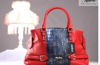 Tas Branded ANDROS - AB0223 IDR. 250.000 BAHAN PU SIZE L36XH25XW18CM WEIGHT 1000GR COLOR RED