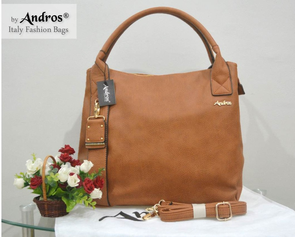AB0229 IDR. 250.000 BAHAN PU SIZE L35XH33XW15CM WEIGHT 1100GR COLOR BROWN