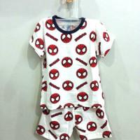 AB6019 Baju Set Anak Spiderman 1-4 Tahun