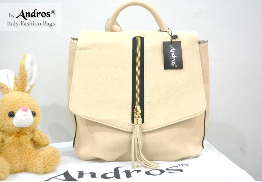 AB7000 IDR. 255.000 BAHAN PU SIZE L26XH29XW12CM WEIGHT 800GR COLOR BEIGE
