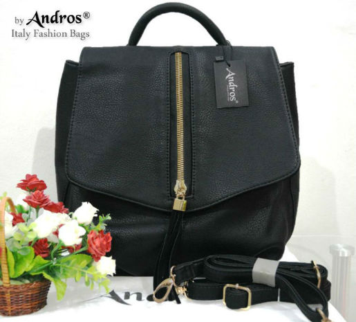 AB7000 IDR.235.000 MATERIAL PU SIZE L26XH29XW12CM WEIGHT 800GR COLOR BLACK