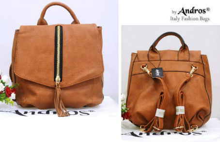 AB7000 IDR.235.000 MATERIAL PU SIZE L26XH29XW12CM WEIGHT 800GR COLOR BROWN
