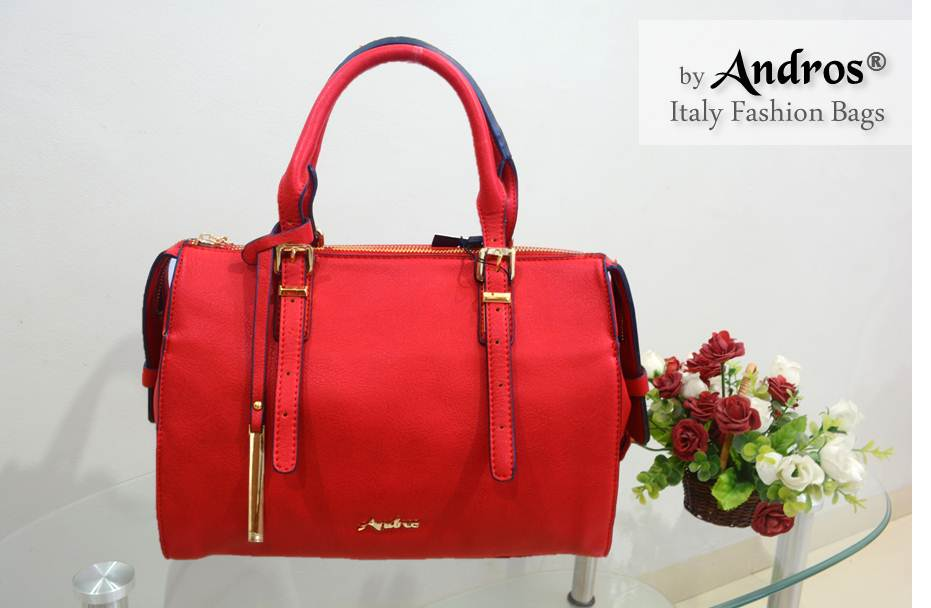 AB7943 IDR 250.000 MATERIAL PU SIZE L30XH23XW10CM WEIGHT 1000GR COLOR RED