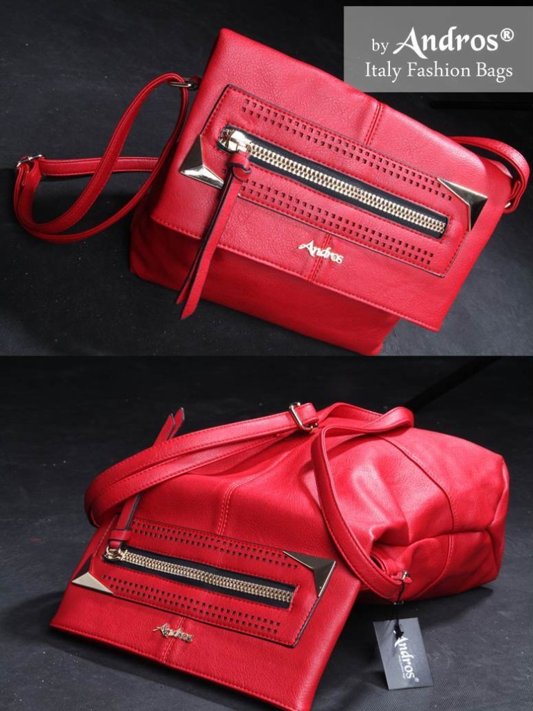 AB7960 IDR 235.000 MATERIAL PU SIZE L33XH25XW13CM WEIGHT 1000GR COLOR RED