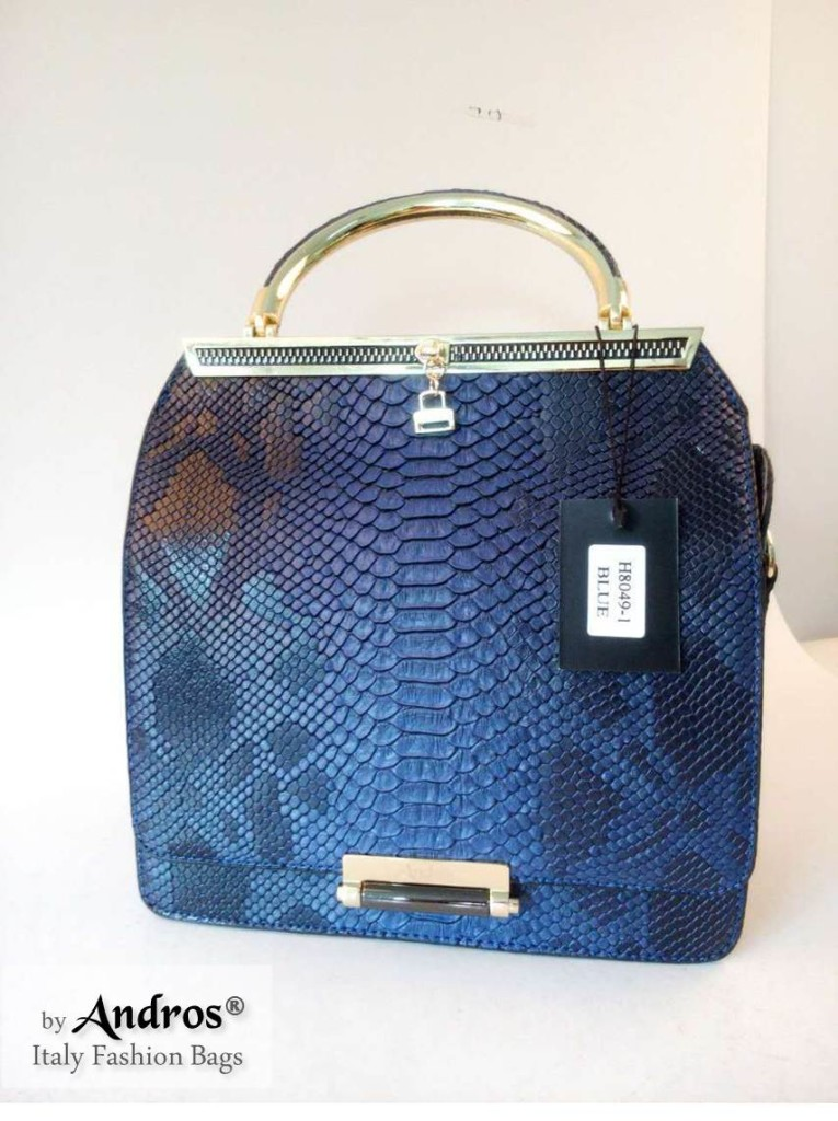 AB8049 IDR 270.000 MATERIAL PU SIZE L24XH23XW12CM WEIGHT 950GR COLOR BLUE