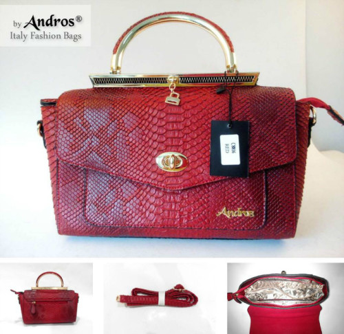 AB8816 - Grosir Tas Import IDR 270.000 MATERIAL PU SIZE L32XH17XW11CM WEIGHT 1000GR COLOR RED