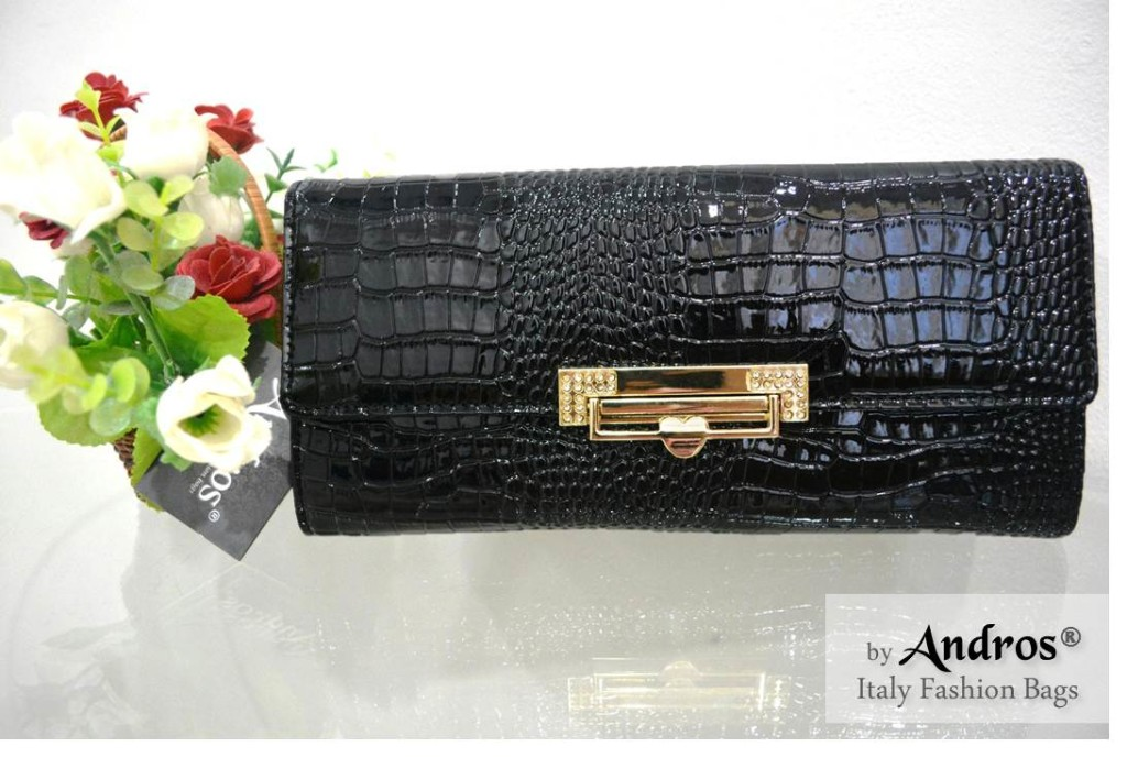 AB9295 IDR 178.000 MATERIAL PU SIZE L23XH11XW4CM WEIGHT 350GR COLOR BLACK