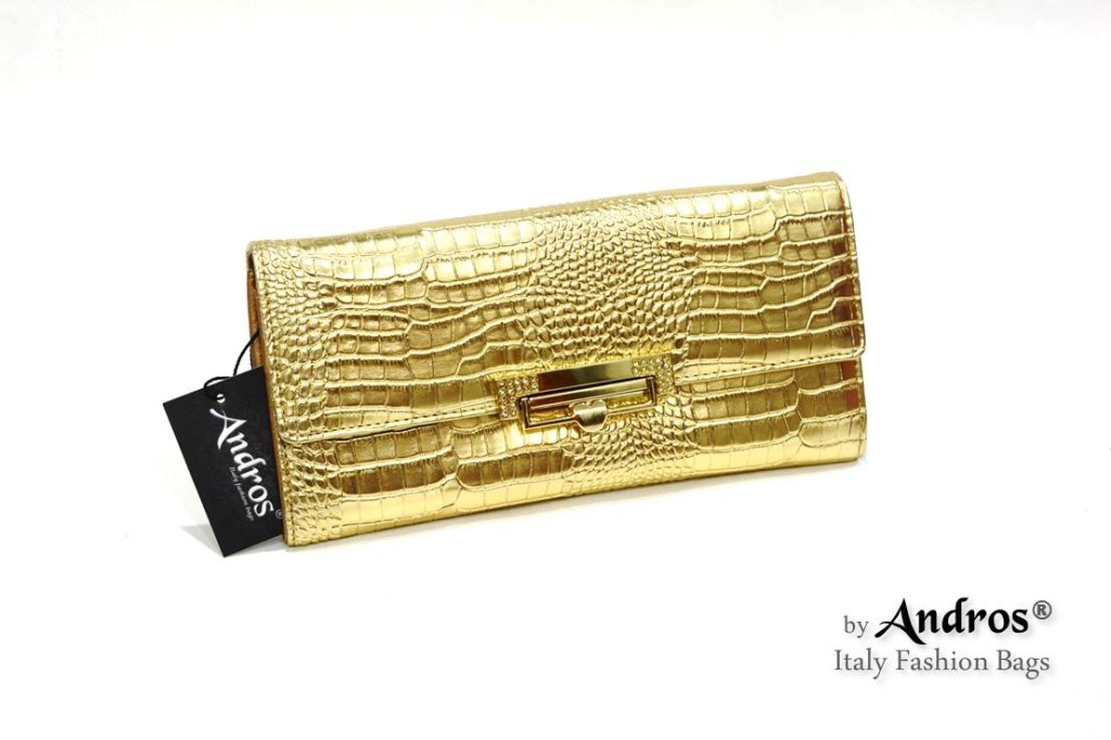 AB9295 IDR 178.000 MATERIAL PU SIZE L23XH11XW4CM WEIGHT 350GR COLOR GOLD