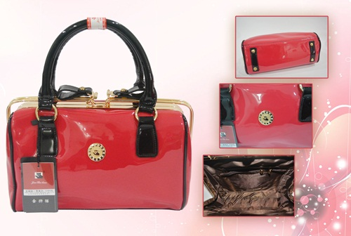 B002 IDR.235.000 MATERIAL PU SIZE L28XH18XW10CM WEIGHT 1200GR COLOR RED