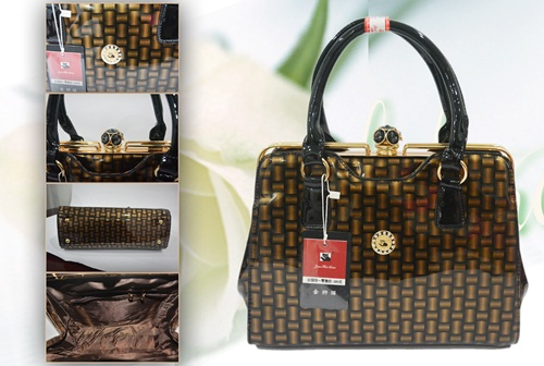 B0029 IDR.260.000 MATERIAL PU SIZE L31XH23XW10CM WEIGHT 1200GR COLOR BROWN
