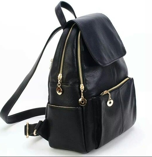 B021 IDR.185.000 MATERIAL PU SIZE L32XH40XW12CM WEIGHT 850GR COLOR BLACK
