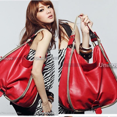 B0297 IDR.174.OOO MATERIAL PU SIZE L35XH32XW11CM DTRAP 110CM WEIGHT 560GR COLOR YELLOW,RED (1)