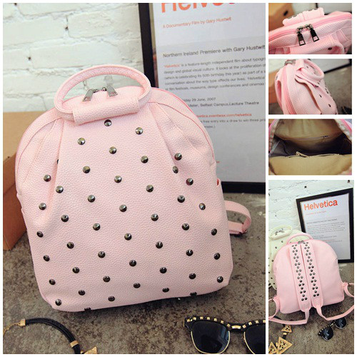 B040 IDR.186.000 MATERIAL PU SIZE L28-26XH33XW12CM WEIGHT 700GR COLOR PINK