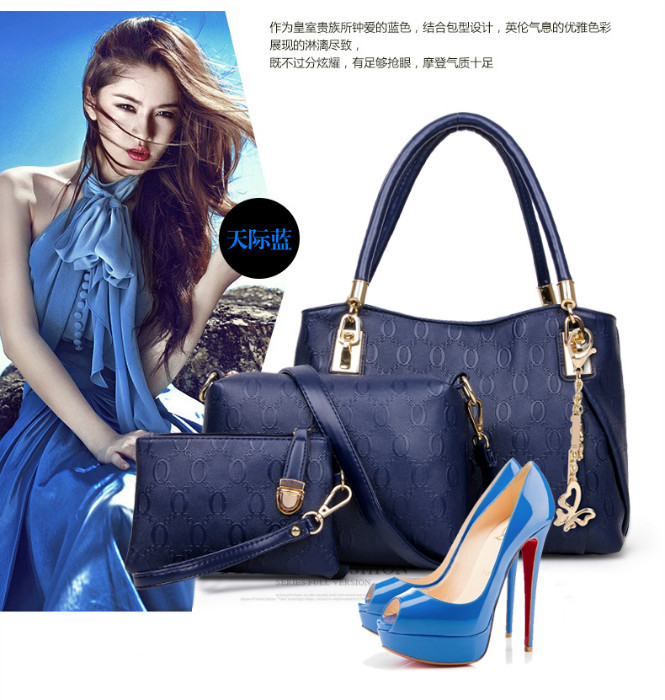 B067 (3IN1) IDR.230.000 MATERIAL PU SIZE BIG L31XH24XW14CM MEDIUM L24X17X7CM SMALL 17X12CM WEIGHT 1000GR COLOR BLUE