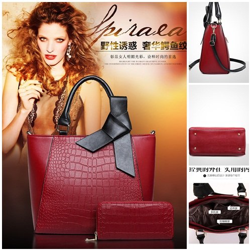 B0672-(2in1) IDR.200.000 MATERIAL PU SIZE L30XH26XW16CM WEIGHT 1000GR COLOR RED