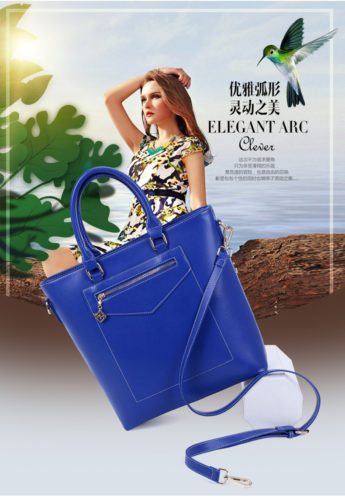 B0690 - Harga sebelum Diskon IDR.201.000 MATERIAL PU SIZE L30 36XH33XW10CM WEIGHT 900GR COLOR BLUE