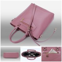 B0690 - Harga sebelum Diskon IDR.201.000 MATERIAL PU SIZE L30 36XH33XW10CM WEIGHT 900GR COLOR PINK
