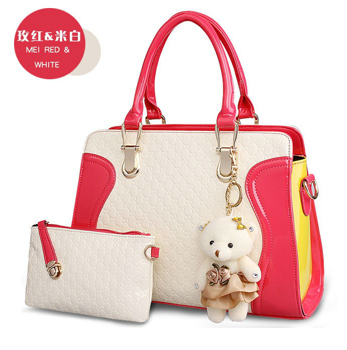 B072 IDR.215.000 (2IN1) MATERIAL PU SIZE L31X24X10CM WEIGHT 850GR COLOR ROSE