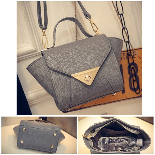 B1004 IDR.163.000 MATERIAL PU SIZE L17XH15XW10CM WEIGHT 500GR COLOR GRAY