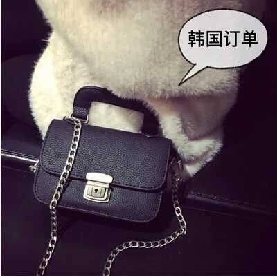 B1022 IDR.145.000 TAS FASHION MATERIAL PU SIZE L17XH13XW6CM WEIGHT 450GR COLOR BLACK