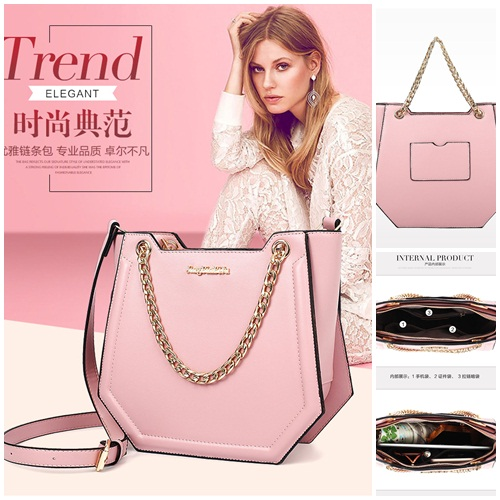 B10270 MATERIAL PU SIZE L24XH21XW10CM WEIGHT 800GR COLOR PINK