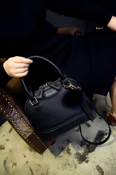 B1073 IDR.201.000 MATERIAL PU SIZE L25XH21XW11CM WEIGHT 750GR COLOR BLACK
