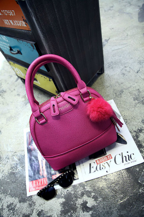 B1073 IDR.201.000 MATERIAL PU SIZE L25XH21XW11CM WEIGHT 750GR COLOR ROSE