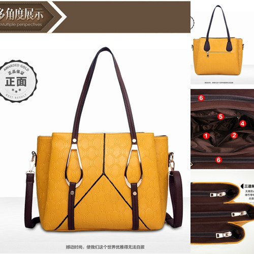 B1086 IDR.208.000 MATERIAL PU SIZE L30XH26XW15CM WEIGHT 850GR COLOR YELLOW