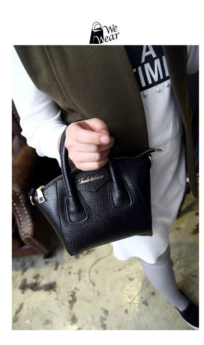 B1087 IDR.168.000 MATERIAL PU SIZE L26-18CMXH18CMXW13CM WEIGHT 550GR COLOR BLACK