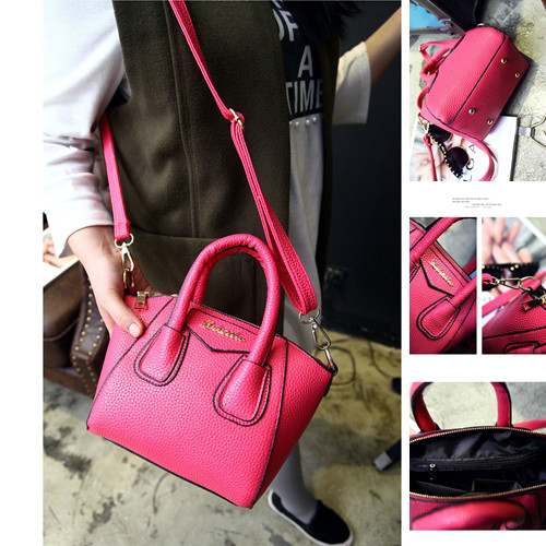 B1087 IDR.168.000 MATERIAL PU SIZE L26-18CMXH18CMXW13CM WEIGHT 550GR COLOR ROSE