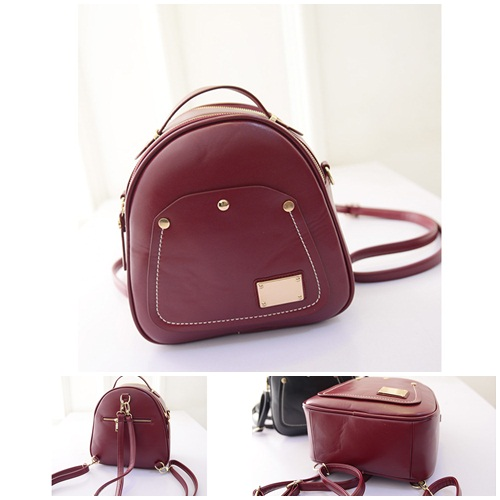 B1122 IDR.198.000 MATERIAL PU SIZE L26-21CMXH26CMXW12CM WEIGHT 700GR COLOR RED