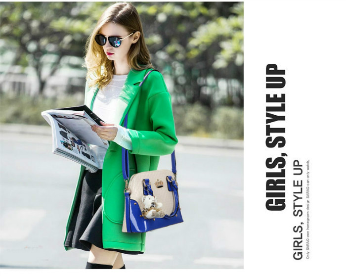 B1134(2IN1) IDR.225.000 MATERIAL PU SIZE L31XH22XW14CM WEIGHT 900GR COLOR BLUE