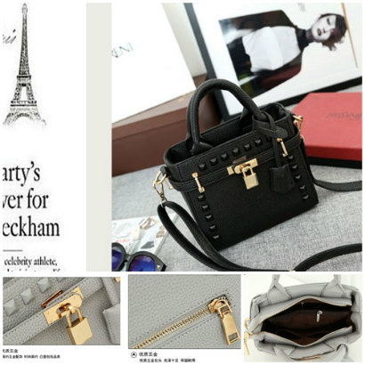 B1152 IDR.179.000 MATERIAL PU SIZE L20XH17XW10CM WEIGHT 700GR COLOR BLACK