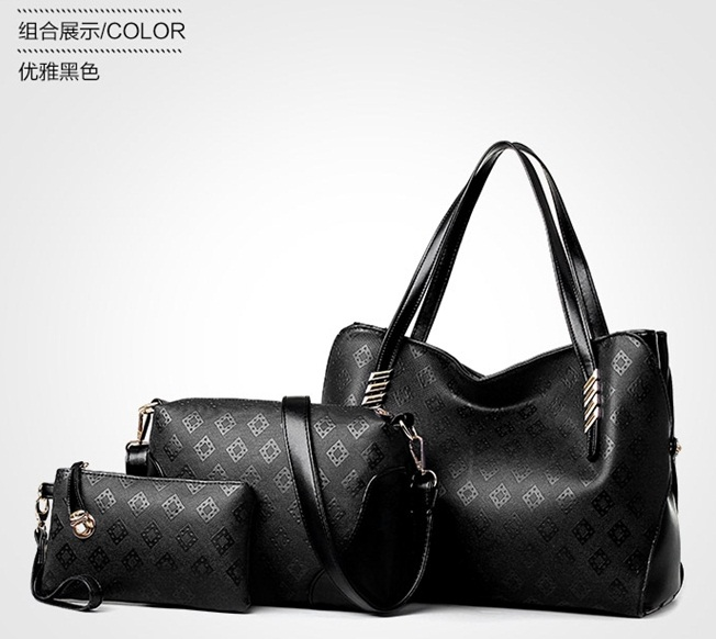 B1156-(3in1) IDR.195.000 MATERIAL PU SIZE L34XH27XW15CM WEIGHT 1000GR COLOR BLACK