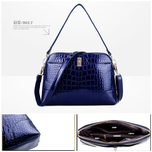 B1161 IDR.201.000 MATERIAL PU SIZE L30XH20XW8CM WEIGHT 700GR COLOR BLUE