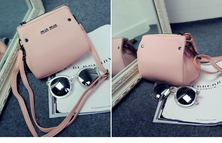 B1198 IDR.155.000 MATERIAL PU SIZE L17XH15XW8CM WEIGHT 400GR COLOR PINK