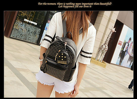 B1199-(2in1) IDR.188.000 MATERIAL PU SIZE L25XH30XW14CM WEIGHT 900GR COLOR BLACK