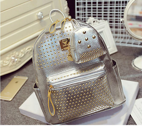 B1199-(2in1) IDR.188.000 MATERIAL PU SIZE L25XH30XW14CM WEIGHT 900GR COLOR SILVER