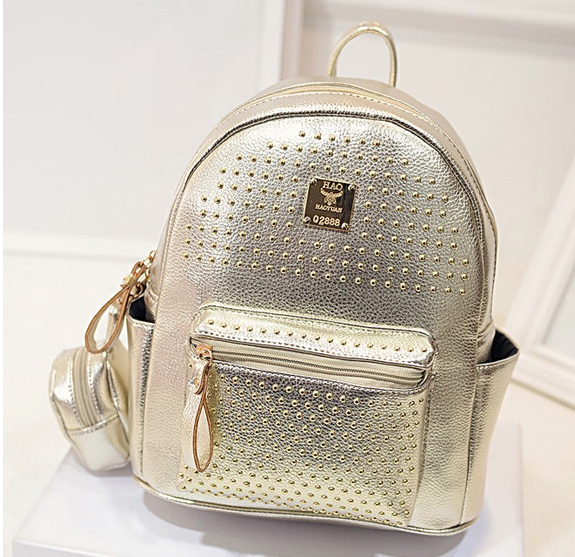 B1199 IDR.195.000 MATERIAL PU SIZE L25XH30XW14CM WEIGHT 900GR COLOR GOLD