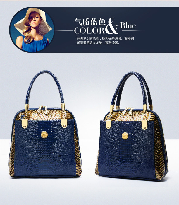 B1203 IDR.244.000 MATERIAL PU SIZE L28XH27XW12CM WEIGHT 750GR COLOR BLUE