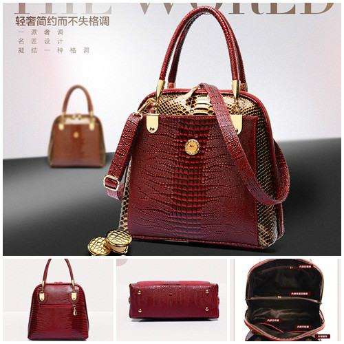 B1203 IDR.244.000 MATERIAL PU SIZE L28XH27XW12CM WEIGHT 750GR COLOR RED
