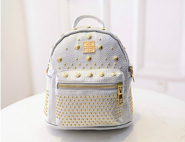 B1206 IDR.182.000 MATERIAL PU SIZE L21XH30XW10CM WEIGHT 600GR COLOR SILVER