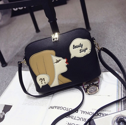 B1254 IDR.143.000 MATERIAL PU SIZE L23XH17XW10CM WEIGHT 500GR COLOR BLACK