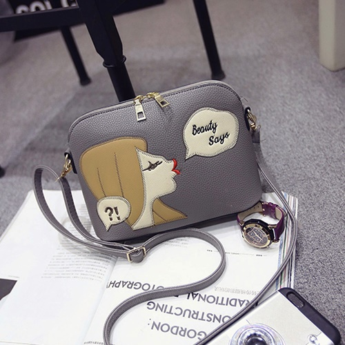 B1254 IDR.143.000 MATERIAL PU SIZE L23XH17XW10CM WEIGHT 500GR COLOR GRAY